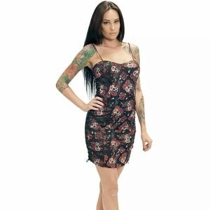 Sullen Angels Bag of Skulls Dress